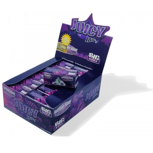 Juicy Jay`s Blackberry Flavour Smoking Rolls (24 in Box)