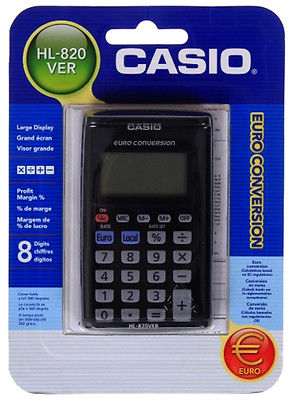 Casio Hl 820Ver Pocket Calculator