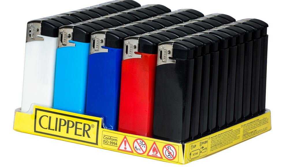 Clipper Flat Electronic Lighter 50
