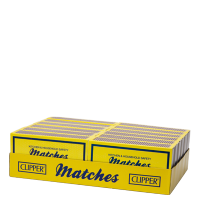 Clipper HOUSEHOLD SAFETY MATCHES 12 IN A PACK