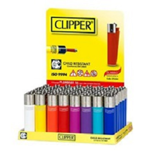 Clipper Micro Solid Flint Lighters 40