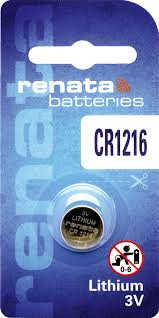 Renata Lithium Battery CR 1216 (10)