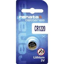 Renata Lithium Battery CR 1220 (10)