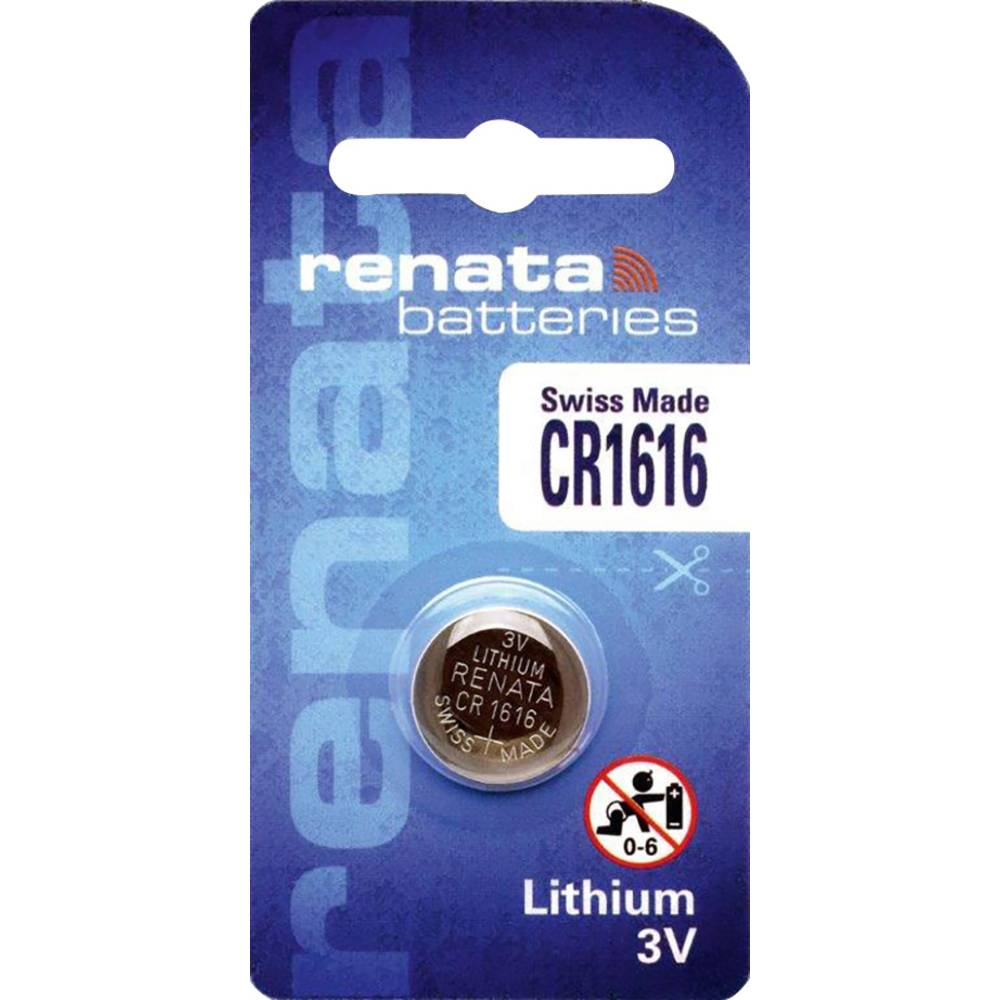 Renata Lithium Battery CR 1616 (10)