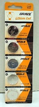 Unicell Watch Batteries CR 2016 (5 on a Card)