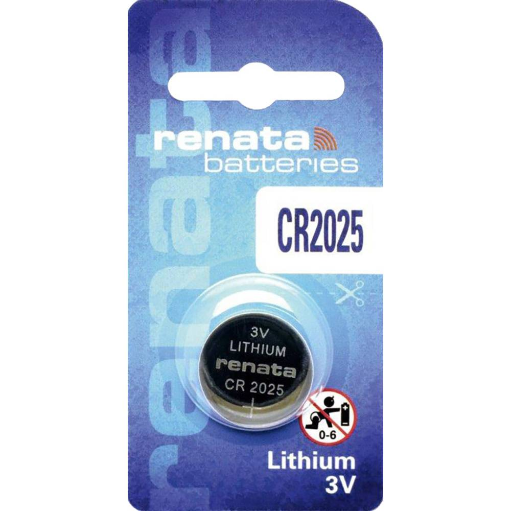 Renata Lithium Battery CR 2025 (10)