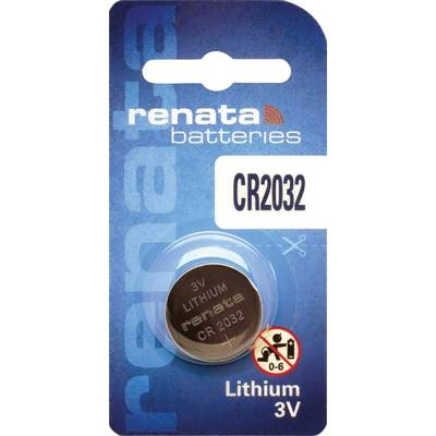 Renata Lithium Battery CR 2032 (10)