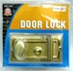 Cylinder Door Lock with 3 keys.
