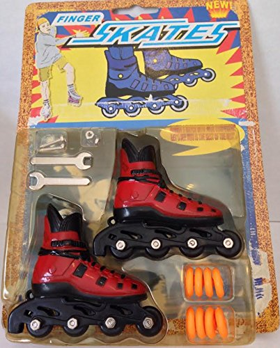 Finger Roller Skates Rollerblades (Assorted Color x12)