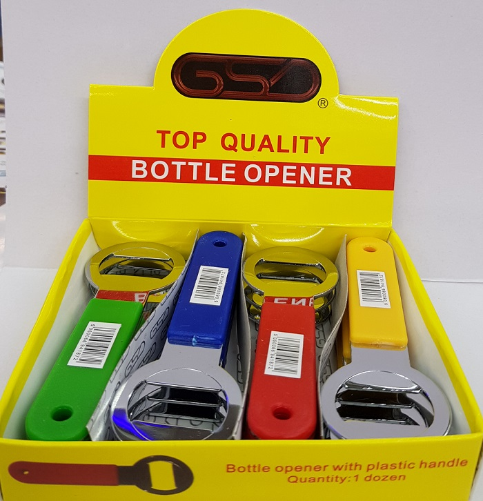 Top Quality Bottle Opener pk of 12 Mix Colours