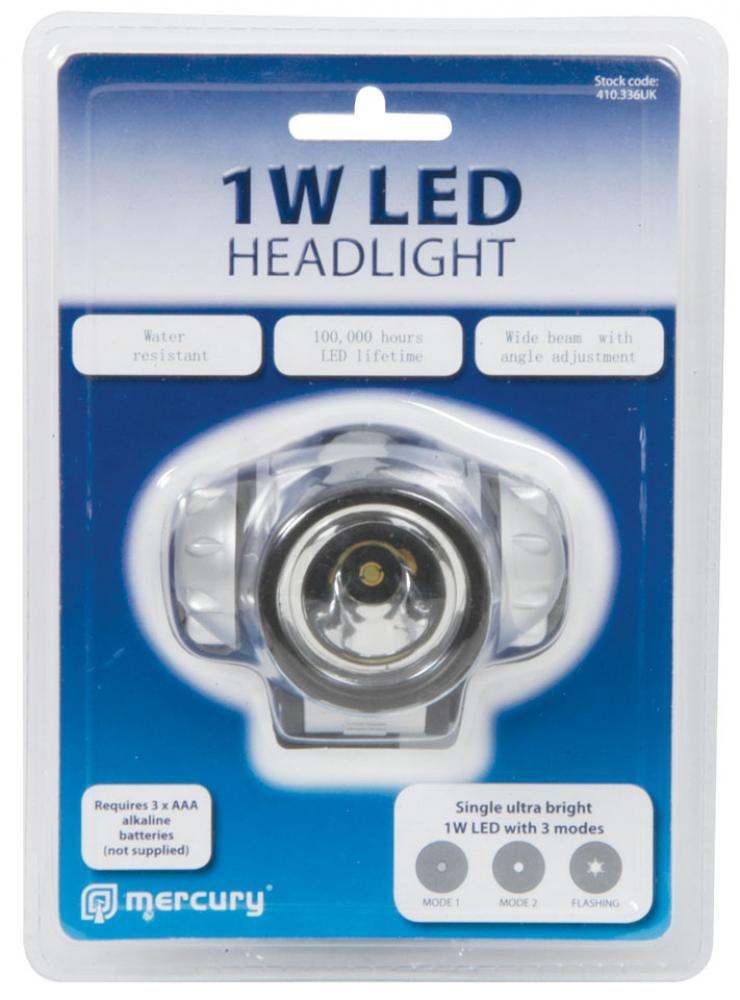 1 Watt LED Krypton Head Lamp (1)