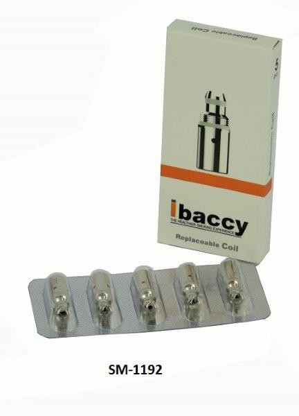 iBaccy Spartan Clearomizer coil pk of 5 (1)