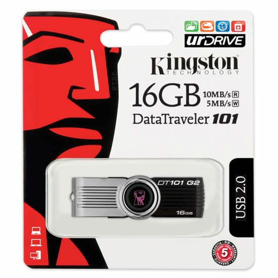 Kingston USB 2.0 16 GB Memory Stick