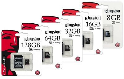 Kingston Micro SD 8 GB Card