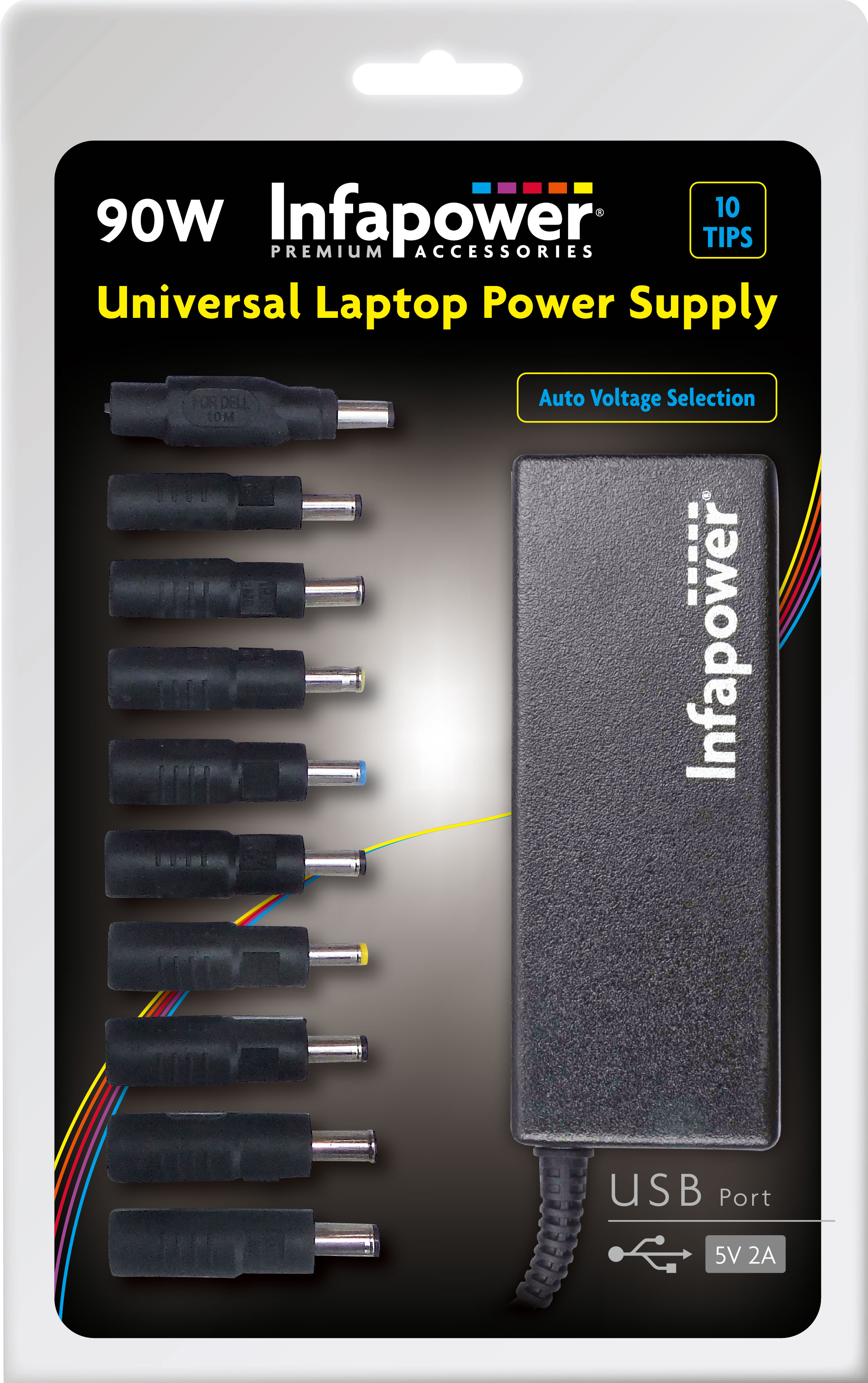 Universal Laptop Power Supply 90w