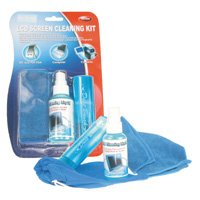 LCD Screen Cleaning Kit (Liquid, Soft Towel & Brush )