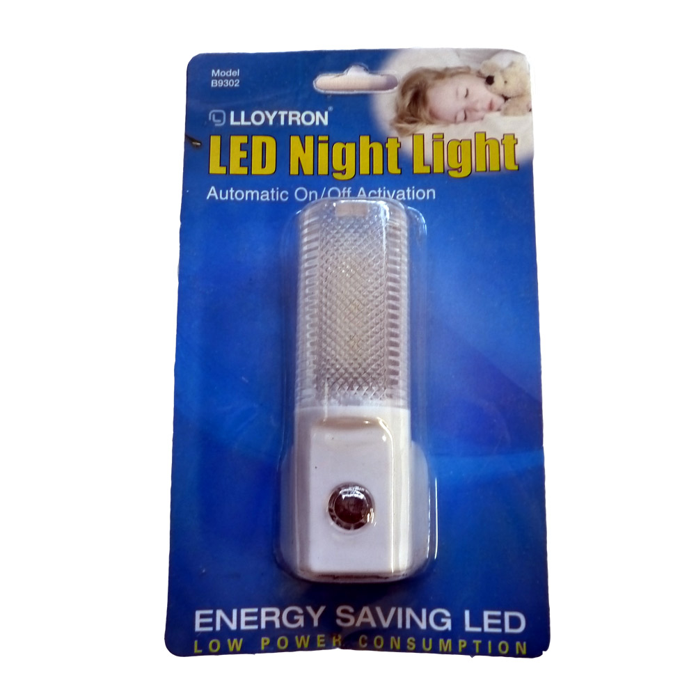 Plug In Automatic Night Light Led