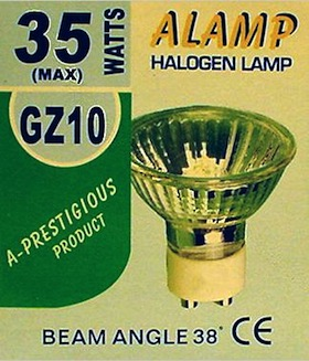 GZ10 Halogen Lamp(35W, pack of 20)