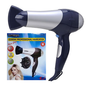 Omega Powerful Hairdryer 2200 W (1)