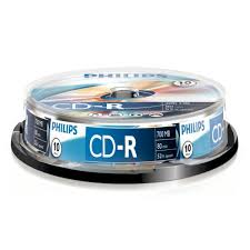 Philips Recordable Disc CD-R (52x) 700 MB, 80 Min