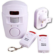 PIR Intruder alarm with Motion Sensor & Remote
