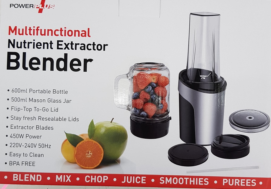 Power plus Nutrient Extractor Blender 450w