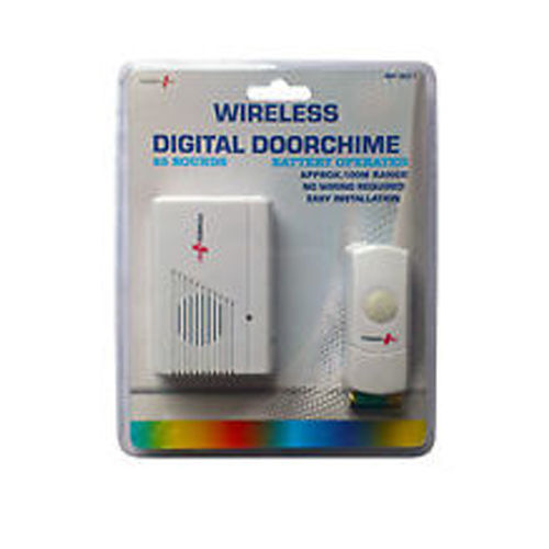 Power Plus Wireless Digital Door Chime 9154 (1)