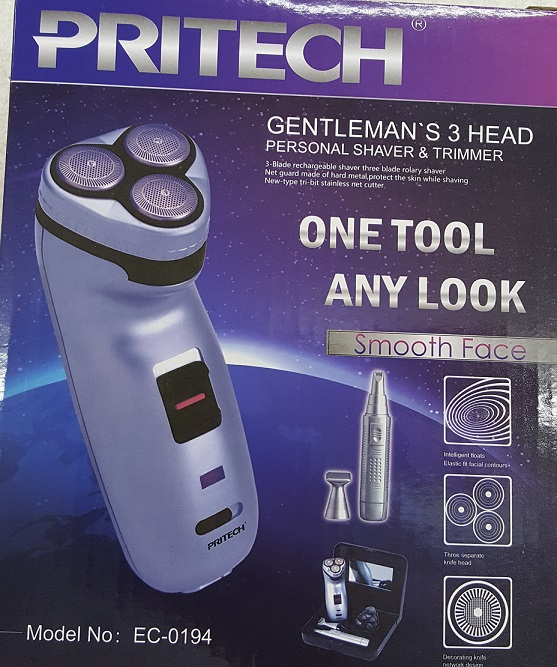 3 in 1 Gentleman Shaver & Trimmer Set (1)
