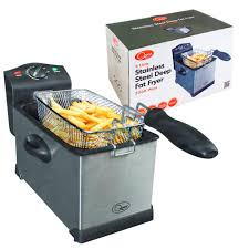 Quest Stainless Steel Deep Fat Fryer 3Ltr.
