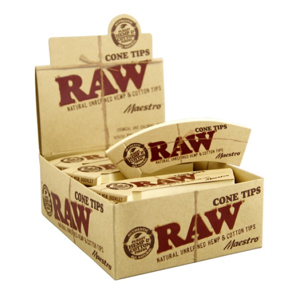RAW Cone Tips Maestro 24per Box