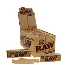 Raw Gummed Tips 24 per box