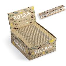 Rizla King Slim NATURAL Ultra Thin Rolling Paper (50)
