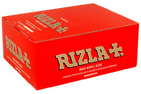 Rizla King Red Original Rolling Paper (50)