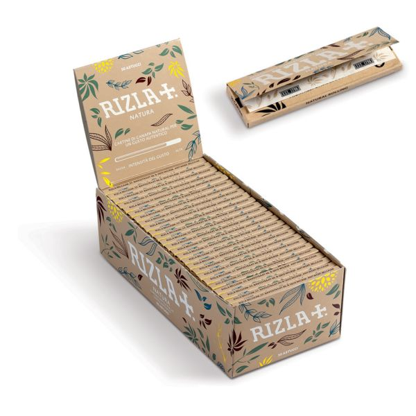 Rizla Standard Regular NATURAL Rolling Paper (50)