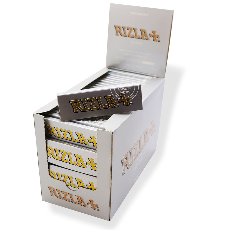 Rizla Standard/Regular Silver Rolling Papers (100)