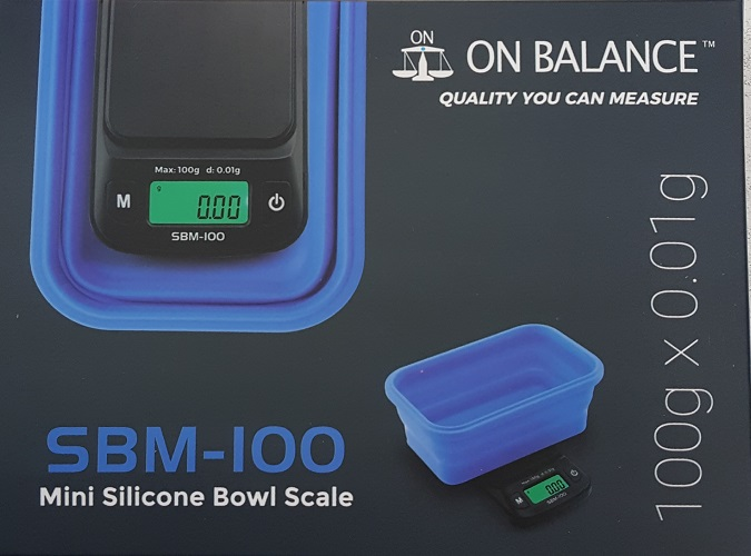 On Balance Mini Silicone Bowl Scale 0.01g