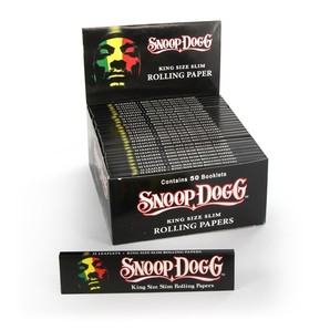 SNOOP DOGG KING SIZE SLIM ROLLING PAPERS X 50 BOOKLETS
