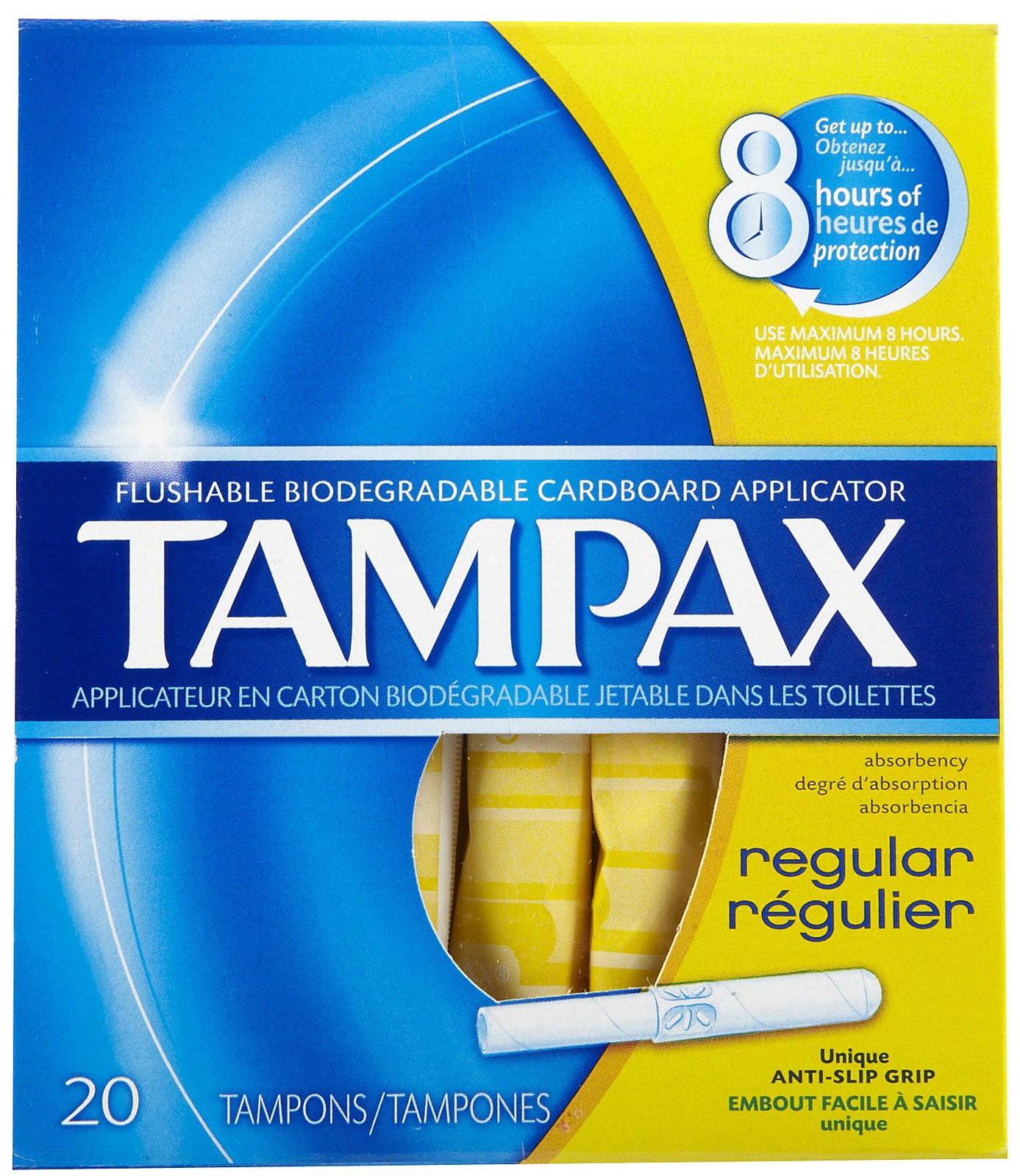 Tampax Applicator Tampons Regular (8 X 20 regular)