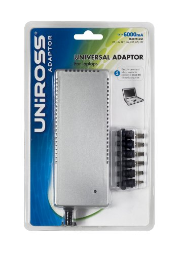Uniross Universal Adaptor For Laptops (6000 mA)