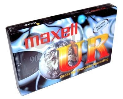 Maxell UR90 90 Minute Blank Audio Cassette Tape pk of 10