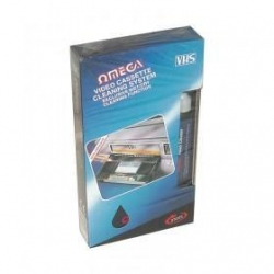 Omega Video Cassette Cleaner BOX OF 10
