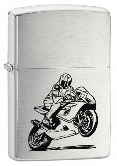 Wind Proof Petrol Lighter (Original, USA) 200 BIKE