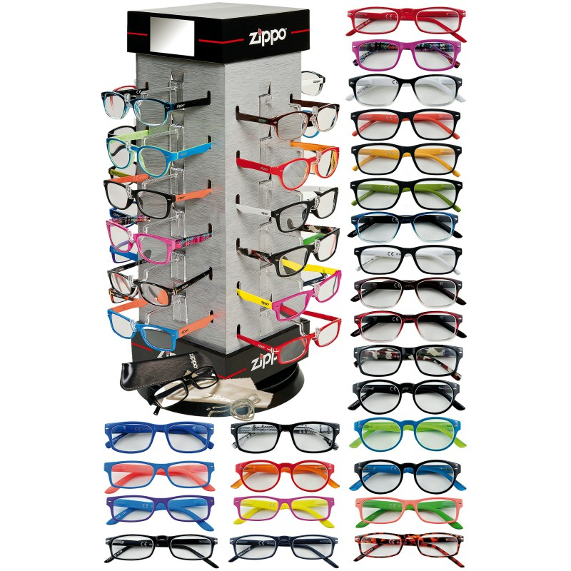 24 PECS of Assorted Reading Glasses Supplied With a Free Stand